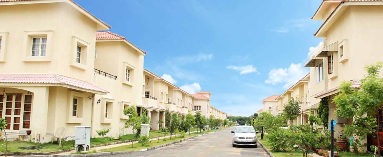 Gated Community residential villas for sale in Chennai.