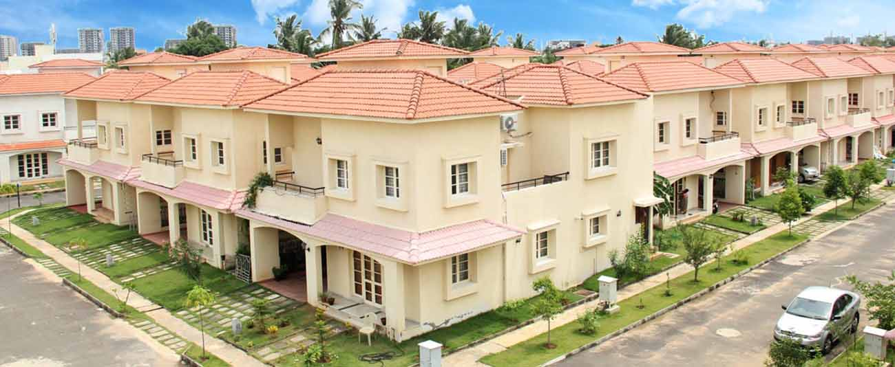 Available only few villas for sale in Chennai.
