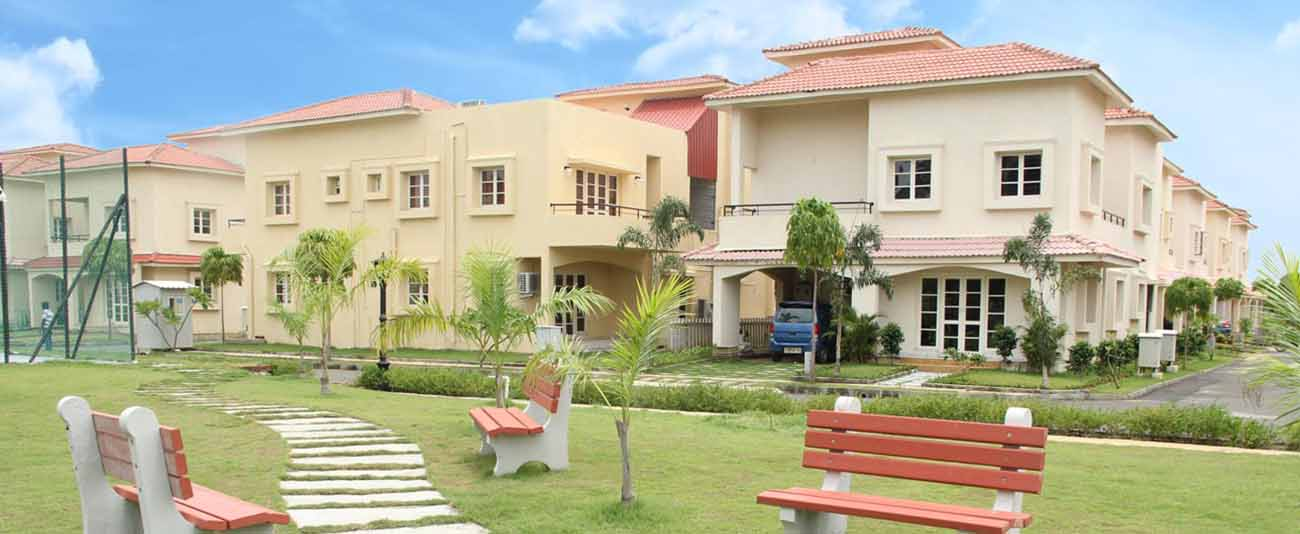 Gated Community villas in Chennai.
